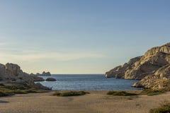 Margeret strand Arkivfoton