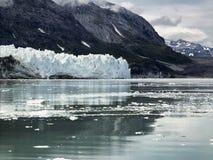 Margerie冰川在冰河海湾国家公园,阿拉斯加 库存照片