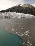 Margerie冰川-冰河海湾国家公园-阿拉斯加 图库摄影