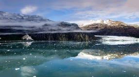 Margerie冰川-阿拉斯加 免版税库存照片