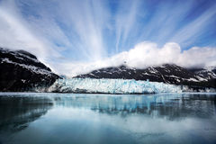 Margerie Glacier. In Glacier Bay National Park, Alaska royalty free stock photos