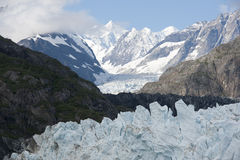 Margerie Glacier Stock Photography