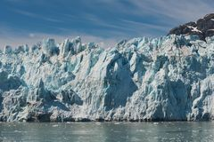 Margerie Glacier Stock Photo