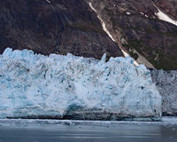 Margerie glacier closeup view of blue ice Royalty Free Stock Photo