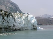 Margerie Glacier - Glacier Bay Royalty Free Stock Photography