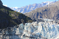 Margerie Glacier, het Nationale Park van de Gletsjerbaai, Alaska Royalty-vrije Stock Foto