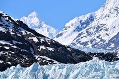 Margerie Glacier no parque nacional Alaska de baía de geleira fotos de stock