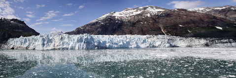 Margerie glacier panorama Stock Photos