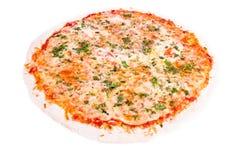 Margharita van de pizza Royalty-vrije Stock Afbeeldingen