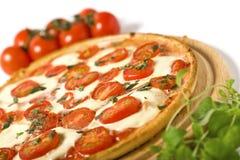 Margharita van de pizza Royalty-vrije Stock Afbeelding