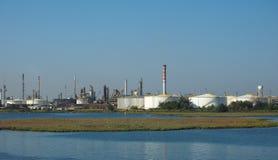Marghera industriområde i Venedig Arkivfoton