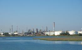 Marghera industriområde i Venedig Arkivfoto