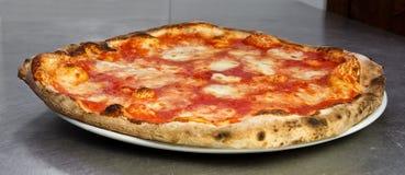 Margherita пиццы Стоковая Фотография
