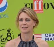 Margherita Buy przy Giffoni Ekranowym festiwalem 2017 Zdjęcia Stock