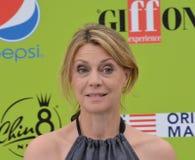 Margherita Buy przy Giffoni Ekranowym festiwalem 2017 Obraz Stock