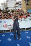 Margherita Buy przy Giffoni Ekranowym festiwalem 2017 Obraz Royalty Free
