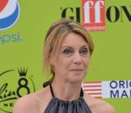 Margherita Buy przy Giffoni Ekranowym festiwalem 2017 Obrazy Stock