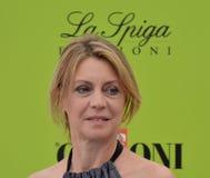 Margherita Buy przy Giffoni Ekranowym festiwalem 2017 Fotografia Royalty Free