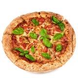 margherita domowej roboty pizza Zdjęcia Royalty Free