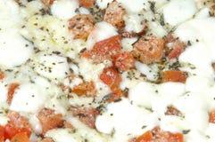 Margherita pizza 2 Royaltyfri Fotografi
