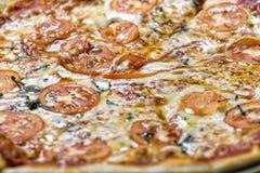 Margherita Pizza Stock Image