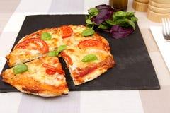 A Margherita pizza Stock Photos