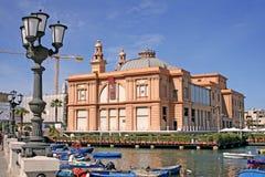 Margherita teatr w Bari Zdjęcie Stock