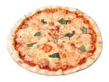 Margherita van de pizza Royalty-vrije Stock Foto's