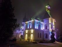Marghiloman dwór, Buzau, Rumunia zdjęcie stock