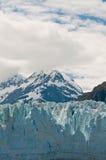 Margier Glacier with mountain Stock Photos