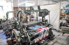 Margillan silk factory Royalty Free Stock Images