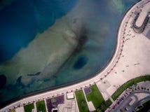 Marginal en la bahía de Luanda, Luanda, Angola Fotos de archivo libres de regalías