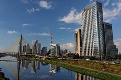 Marginal Pinheiros Sao Paulo Brazil Stock Images