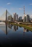 Marginal Pinheiros Sao Paulo Brazil Royalty Free Stock Photo