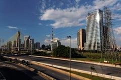 Marginal Pinheiros Sao Paulo Brazil Stock Photos