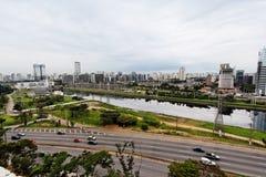 Marginal Pinheiros Sao Paulo Brazil Royalty Free Stock Photos