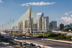 Marginal Pinheiros Sao Paulo Brazil Stock Photo
