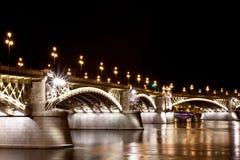 Margind-hÃd - Margaret-Brücke, Budapest Stockfotos