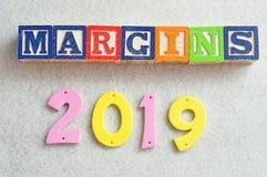 2019 marginesów Zdjęcie Royalty Free