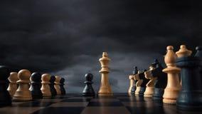 Margines społeczny i warstwa wyższa przygotowywający walczyć, Obraz Stock