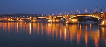 Margit Bridge Royalty Free Stock Images