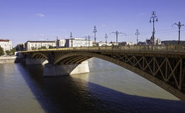 Margit bridge Royalty Free Stock Photography