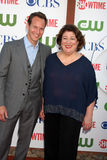 Margo Martindale, Patrick Wilson Stock Photography