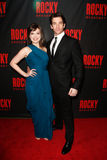 Margo Seibert, Andy Karl Royalty Free Stock Images