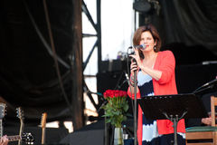 Margo Timmins of the Cowboy Junkies. Performs at the 19th annual Ottawa Bluesfest July 12, 2012 in Ottawa, Ontario, Canada Stock Photo