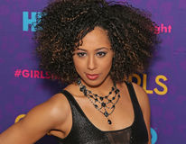 "Margot Bingham. Actress Margot Bingham arrives on the red carpet for the New York premiere of the third season of the hit HBO cable comedy ""Girls,"" stock images"