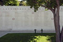 Netherlands American Cemetery Stock Image