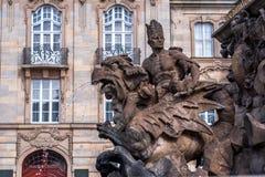 margrave фонтана bayreuth Стоковое Изображение RF