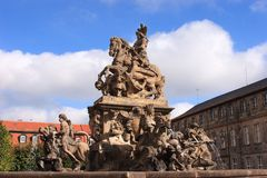 Margrave fountain Bayreuth Stock Photography