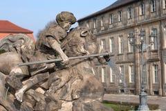 Margrave fountain Bayreuth Stock Photos